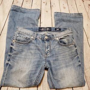 Seven7 Lightwash Bootcut Jeans size 32